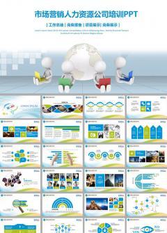 市场营销人力资源培训管理ppt模板