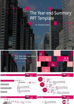贵族紫大气工作总结报告PPT模版