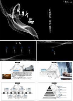 企业新品上市产品发布介绍PPT模板