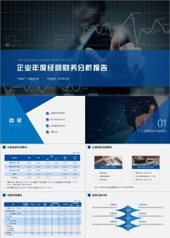 【财务3】年度财务经营实战分析模板