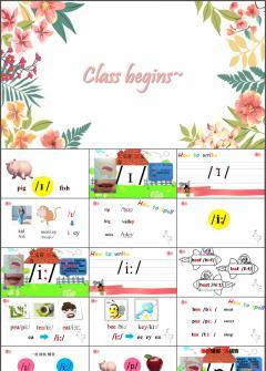 英语国际英标入门-lesson1课件模板