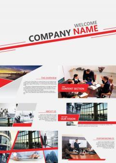 英文版房产行业大气品牌宣传PPT模板